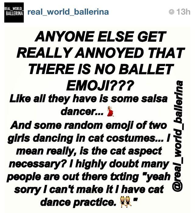 YES // via instagram @real_world_ballerina