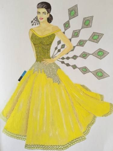 Sparkling yellow