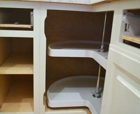 Corner Cabinet Lazy Susan Door Hinges Woodworking
