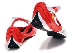 Hermosas zapatillas Puma Ferrari de la colección 2010