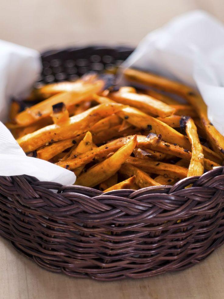 Met deze 6 tips worden je zoete aardappelfrietjes gegarandeerd knapperig!