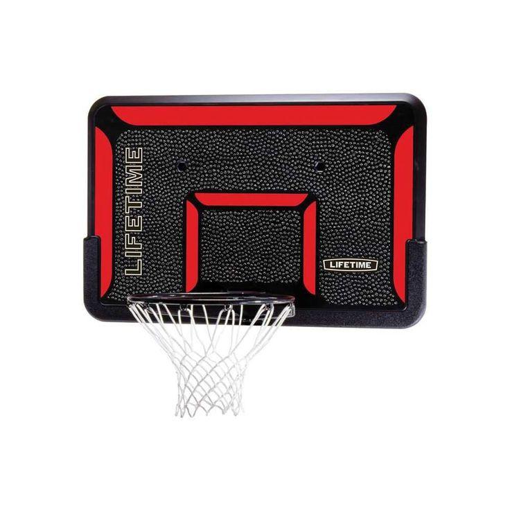 Basketball Backboard Rim Net Set System NBA Hoop Outdoor Sport Game Youth Play #Lifetime