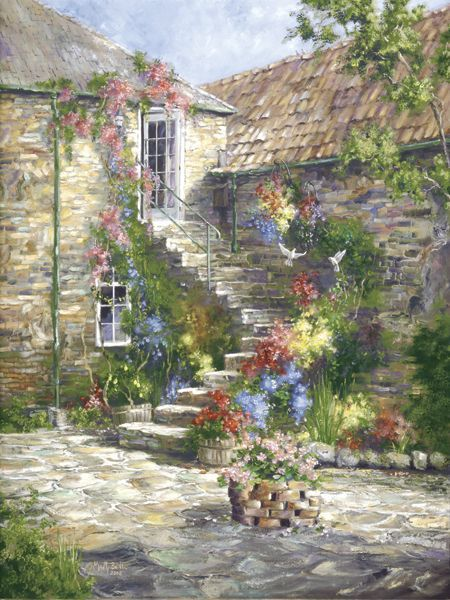"""""""The Courtyard"""" // Marty Bell"""