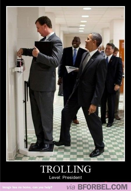 Trolling Like A President…