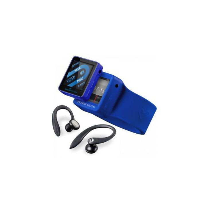 MP4 Player Energy Sport 2504 ,4GB, Power Blue - Neoplaza.ro