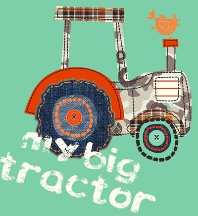 tractorTractors Inspiration, Prints Pattern, Wendy Burning, Burning Blog, Boys, Book, Fathers, Dads, Textiles Prints