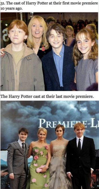 48 Things That Will Make You Feel Old Harry Potter Cast