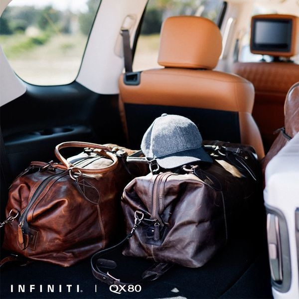 2019 Infiniti Qx60: The 2019 #INFINITI #QX80. Ample Cargo Space To Hold All