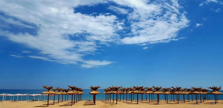 """The resort with the purest sand on the Black Sea coast. Yes, this is """"Golden Sands"""", Bulgaria, where the beaches are covered with crystal clear sands..."""