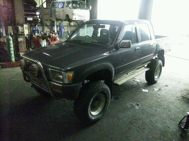 1992 Diesel 2 8 Rzn 152 Toyota Hilux Double Cab Pick