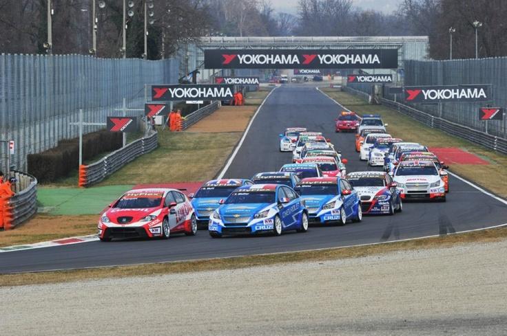 Monza first race