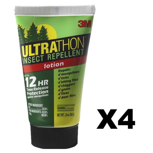 Ultrathon Insect Repellent Lotion 2 oz (4-Pack)