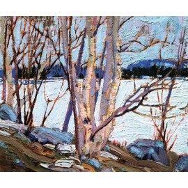 Tom Thomson An Ice Covered Lake