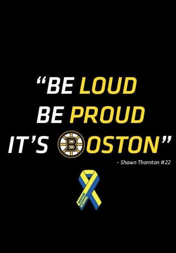 Boston Bruins boston strong