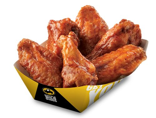 Traditional wings from Buffalo Wild Wings  http://foodjunky.com/restaurant/menu/212