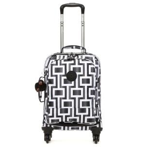 """Yubin 55 Spinner Luggage in Maze #Kipling 13.75"""" L x 21.5"""" H x 10.5"""" D #KiplingSweeps"""