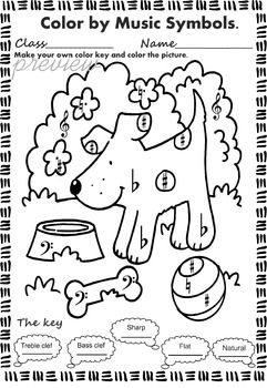 Coloring Pages Zip File. zip file contains  Summer Color by notes and rests 69 best Music Activities images on Pinterest