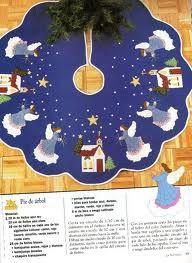 pies de arbol navideños - Buscar con Google