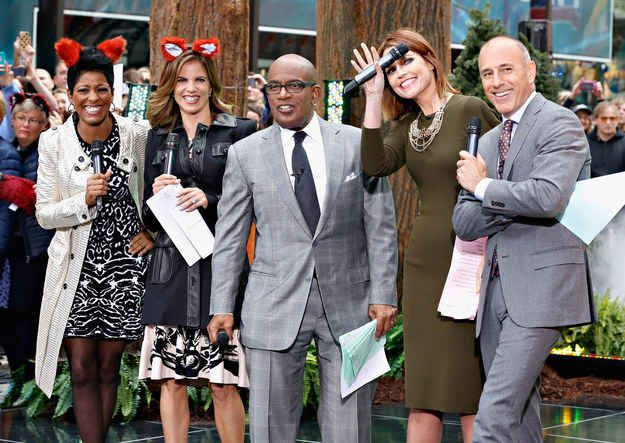 So Peanuts would make for an excellent Halloween costume theme, right? Lovable cartoon characters? Awesome! So that's why the Today show cast decided to rock costumes inspired by the cartoon on this morning's broadcast.