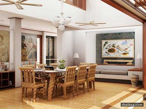 Easy and casual dining space suggestions in appearance for Casual dining room wall ideas