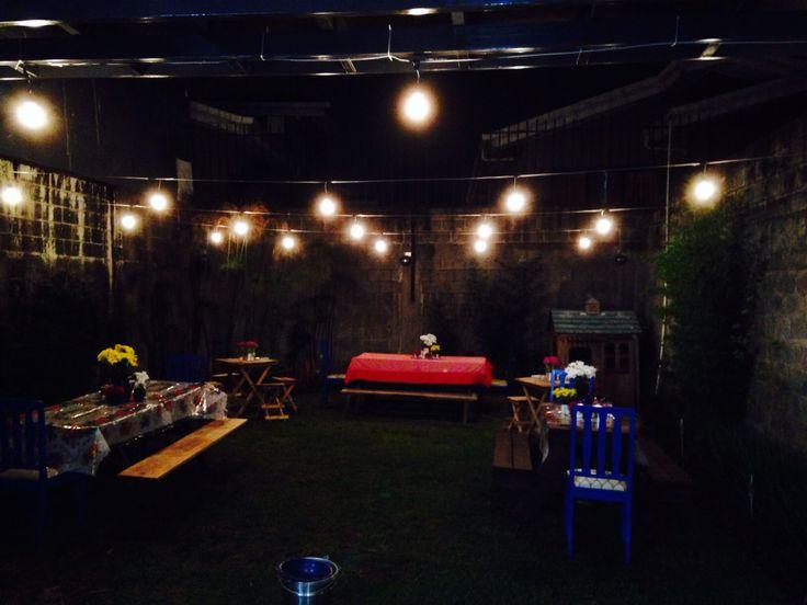 Fiesta en el patio simulando un turno fiestas t picas de - Todo casa decoracion ...