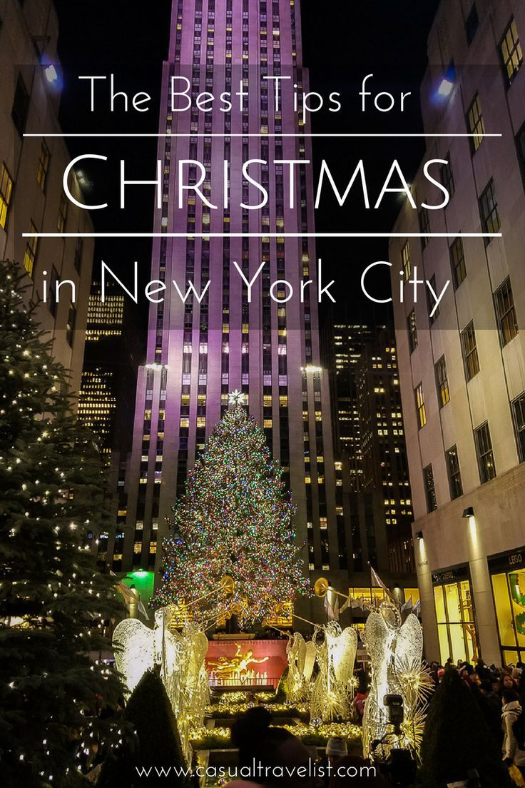 Ensure your trip to New York City at Christmas is full of good tidings and cheer with these tips for visiting New York during the holidays.Top Tips for visiting New York City at Christmas www.casualtravelist.com|#christmas|#nyc|#newyorkchristmas| New york city travel tips|#NYC