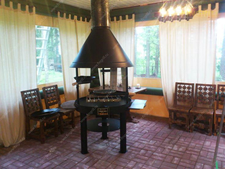 Финский гриль барбекю HD для установки как в помещении, так и на открытом воздухе. www.fingrill.ru