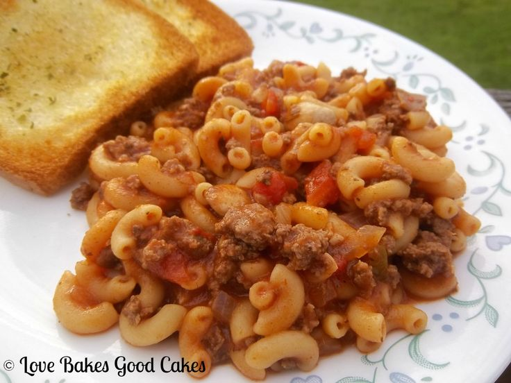 Love Bakes Good Cakes: One Pot Goulash - Guest Post