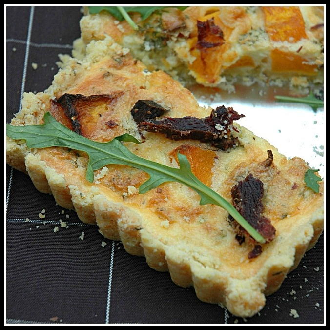 South Africa on a plate - Biltong and Butternut Quiche | My easy cooking by Nina Timm.