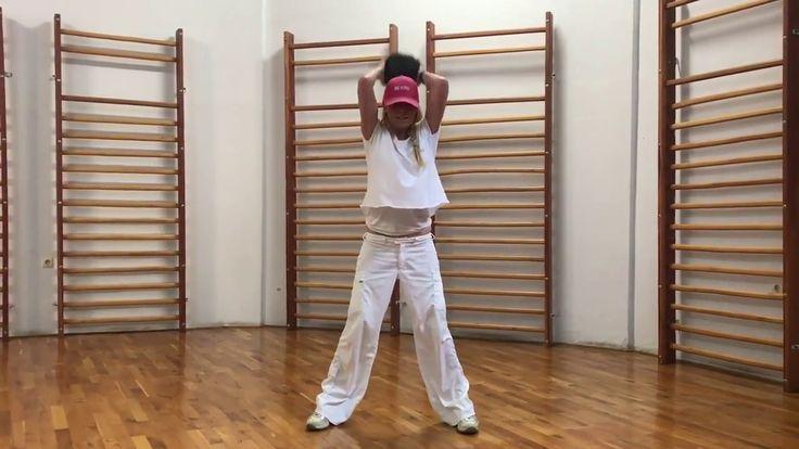 Μedicine ball workout.  Γυμναστική με μπάλα βάρους 4 kg