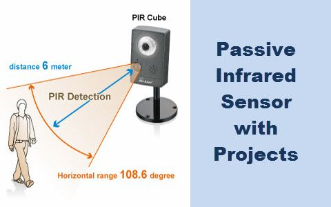 Know about Passive Infrared Sensor (PIR) with Projects