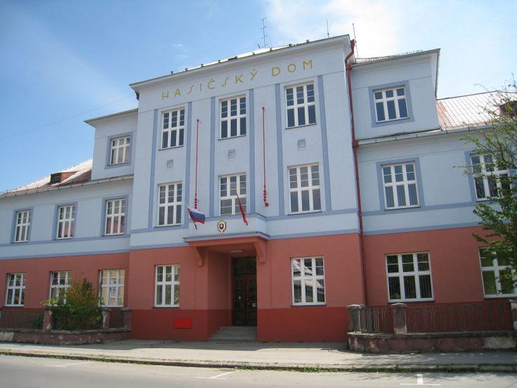 Fasáda Hasičského domu