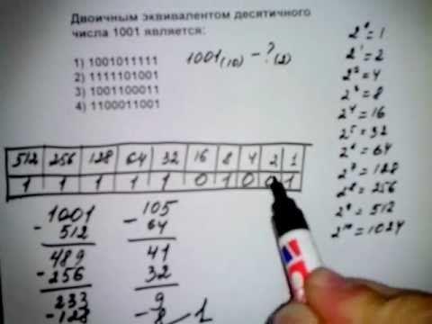 A1 тип I способ 2. ЕГЭ информатика 2012