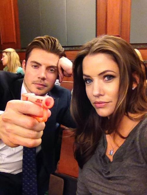 Josh Henderson and Julie Gonzalo have amazing chemistry on TNT's Dallas. :)