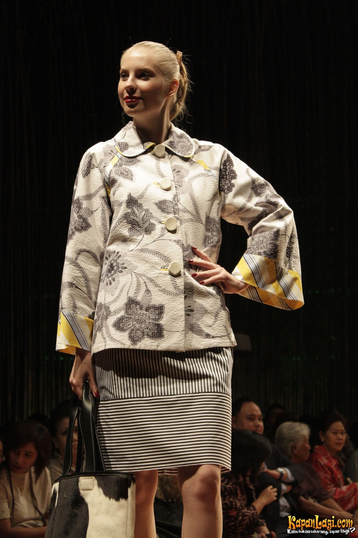 Cool Combination Batik and stripes