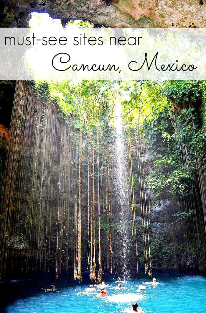 Must See Sites Near Riveria Maya Mexico #cancun #mexico #travel