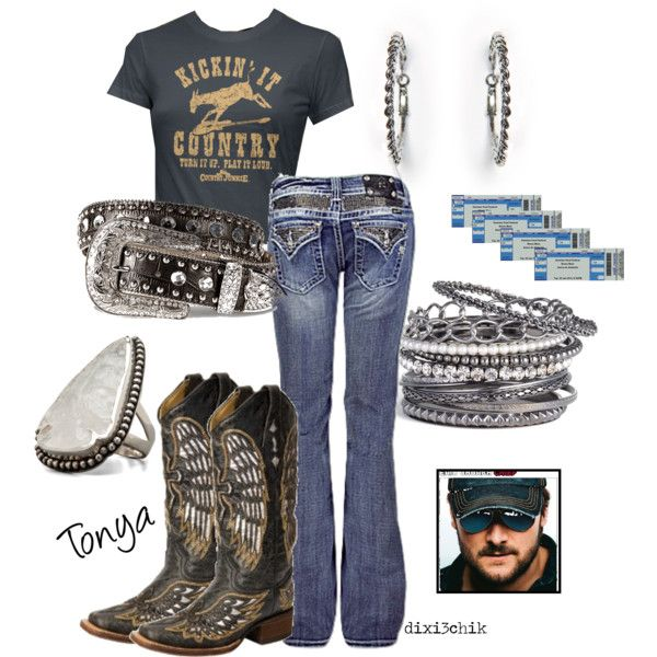 eric church: Country Concert, Fashion, Country Girl, Dream Closet, Eric Church, Clothes, Country Style, Concert Outfit, Country Outfits