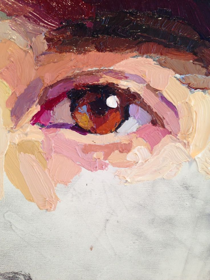 Karen Appleton: The Drummer (Will paint some close ups of eyes/facial features in watercolour, acrylic and oils)