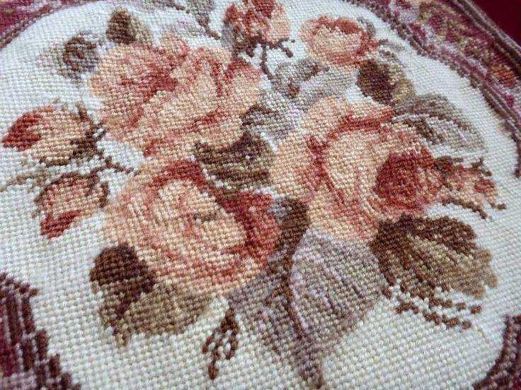 ༺✿ •✿• ✿༻ Bordado Florais Clássico em Ponto Cruz -  /   ༺✿ •✿• ✿༻ Classic Floral Embroidery Cross Stitch -
