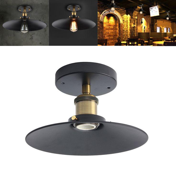 E27 Loft Vintage Industrial Copper Edison Sconce Wall Ceiling Light Lamp Holder