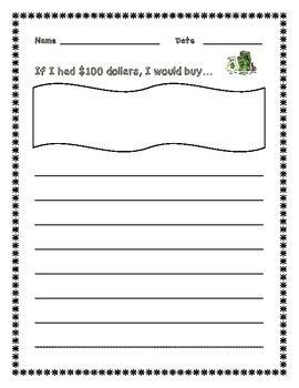 100th Day Printables Grades 1-4