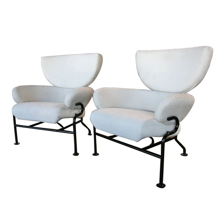 """Armchairs """"Tre pezzi PL19"""" by Franco Albini and Franca Helg    1stdibs.com"""