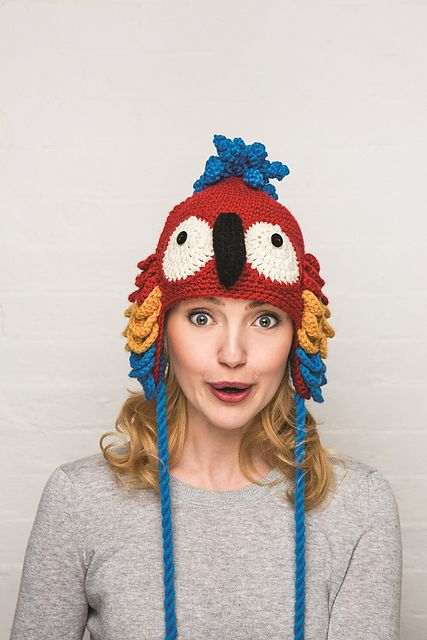 Ravelry: Parrot Hat pattern by Vanessa Mooncie
