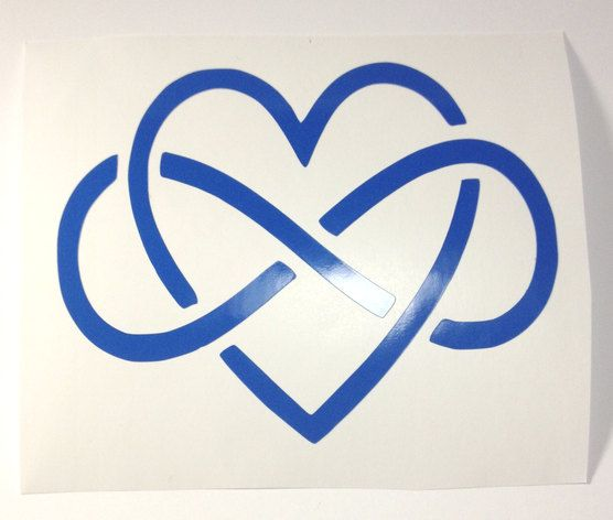 Eternity heart eternity symbol interlocking eternity for Love symbol tattoos