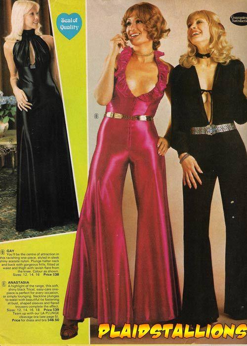 1970's Lingerie Catalog I Kesman I Plaidstallions.com