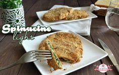 Spinacine light cotte al forno e senza grassi, perfette per chi è a dieta o per chi vuole mangiare sano!