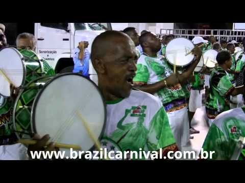 Caixa Samba Drums Close Up: Caixa de Guerra at Rio Sambadrome