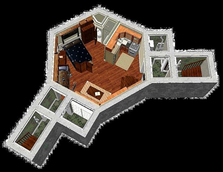 Pin by tracie simonin on crazyfishfarmer 39 s ideas pinterest for Survival home plans