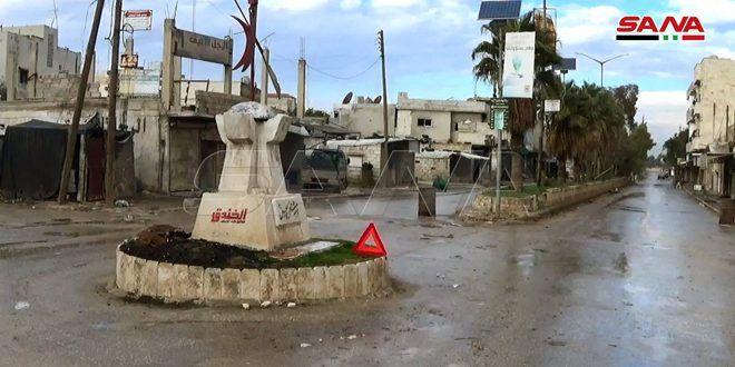 بالصور والفيديو بلدة سراقب بعد دحر الإرهاب عنها Syria News News Finance Business Finance