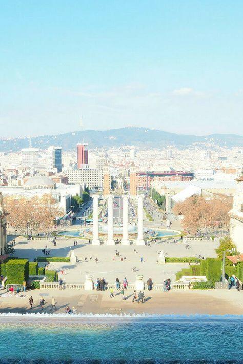 Traumhafter Ausblick vom Font Magica auf #Barcelona. #spain #spanien (scheduled via http://www.tailwindapp.com?utm_source=pinterest&utm_medium=twpin&utm_content=post151787745&utm_campaign=scheduler_attribution)